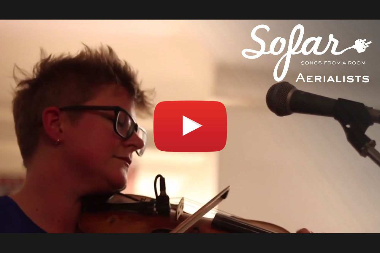 Audio Production - Sofar Sounds Vancouver - Aerialists