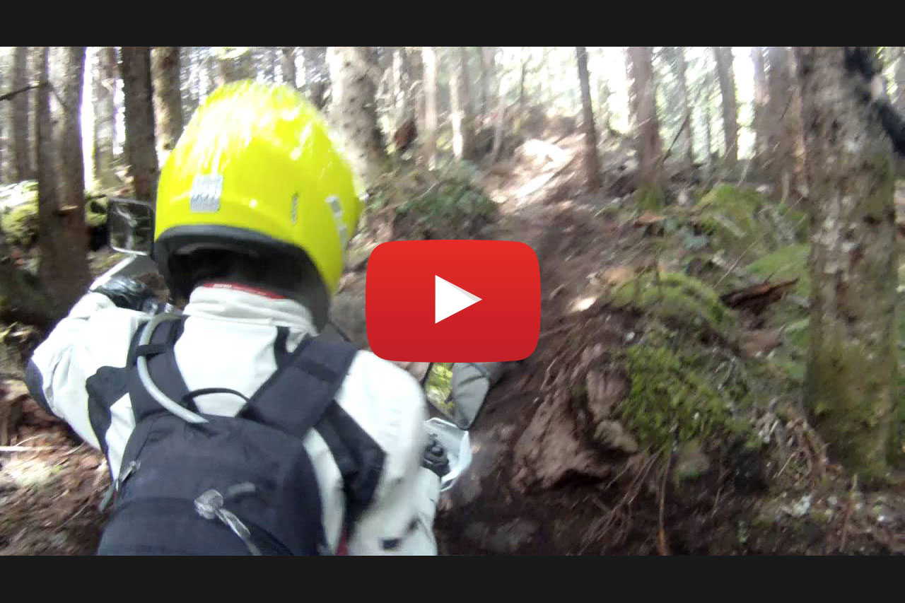 Motorcycling the Lava Flow - Squamish BC